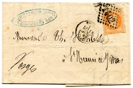 VOSGES De EPINAL LAC 2ième échelon Du 17/08/1869 Avec N°31 Oblitéré GC 1402 - Marcophilie (Lettres)