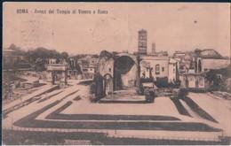 POSTAL ROMA - AVANZI DEL TEMPLO DI VENERE E ROMA - Iglesias