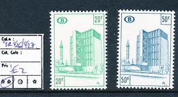 BELGIUM COB TR426/427 MNH - 1952-....