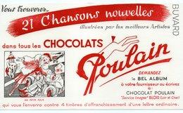- BUVARD CHOCOLATS POULAIN - MA PETITE FOLIE - - Cocoa & Chocolat