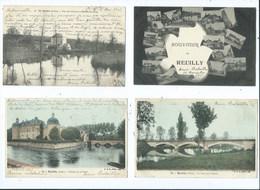 Reuilly ( Indre ) Lot De 8 Cartes - France