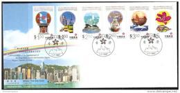 Hong Kong - 1997 SAR Region Of China FDC - 1997-... Chinese Admnistrative Region