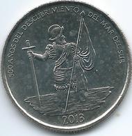 Panama - 2013 - ½ Balboa - 500th Anniversary Of The Pacific Ocean Discovery - KM144 - Panama