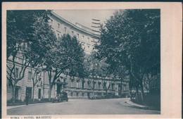 POSTAL ROMA - HOTEL MAJESTIC S A T A - EDIZION U N I T I - Bares, Hoteles Y Restaurantes