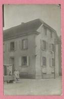 """68 -  BÜHL - Carte Photo - Maison D' Habitation - Plaque De Rue """" St Johann Strasse """" - Non Classés"""