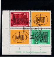 DDR, Nr. 1012/13 ZD DV, Gest. (K 4152d) - DDR