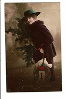 CPA - Carte Postale -Pays Bas-Gelukkig Nieuwjaar - Une Dame Avec Deux Colombes-  VM3904 - Nieuwjaar