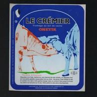 Etiquette Fromage Le Crémier  Au Lait De Vache  ONETIK  Macaye 64 - Cheese
