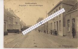 "GROBBENDONCK-GROBBENDONK ""BERGSTRAAT MET STOOMTRAM-RUE DE LA MONTAGNE AVEC TRAM A VAPEUR""EDIT.DE BLENDE - Grobbendonk"