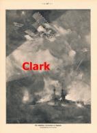 940 Clark Nächtliches Seemanöver In England Druck 1914 !! - Prints