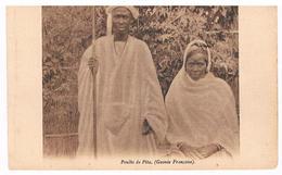 CPA : Guinée Française - Peuhls ( Peuls ) De Pita  - Couple - Guinea Francese