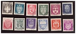 Série N°553 à 564 Obl. - France