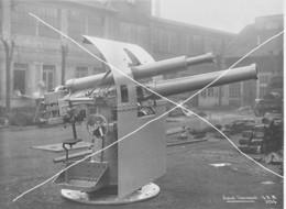 Armée Française  ARTILLERIE CANON  14-18 Blindage Gros Plan  Grand Format N°2 - Krieg, Militär