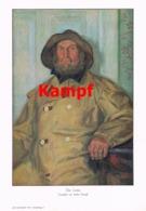 942 Arthur Kampf Der Lotse Matrose Seefahrt Kunstblatt 1914 !! - Prints