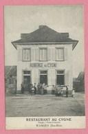 "67 - WANGEN - Restaurant - Auberge "" AU CYGNE "" - Propr: PRISS-SCHMITT - Cachet Ambulant MOLSHEIM à SAVERNE - France"