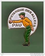 PETANQUE DES ALLEES *** PAU *** 1023 - Pétanque