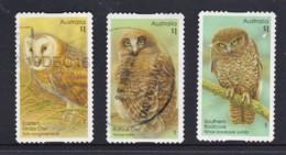 Australia 2016 Owls Three Self-adhesives Used - See Notes - Used Stamps