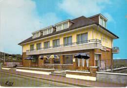 76 - POURVILLE / MER ( HAUTOT / MER ) Hotel Restaurant LA RESIDENCE - CPSM Village (1.930 Habitants) GF - Seine Maritime - France