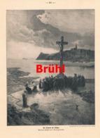 948 Brühl Freund Der Fischer Matrosenfrauen Druck 1913 !! - Prints