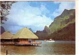 Cpsm - Tahiti - Moorea - Arrivé Du Kéké II Dans La Baie De Paopao - - Tahiti