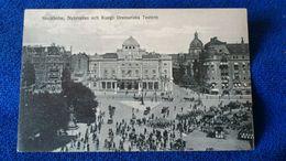 Stockholm Nybroplan Och Kungl. Dramatiska Teatern Sweden - Svezia