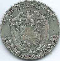 Panama - 1966 - ½ Balboa - KM12a - Panama