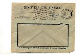 Lettre Flamme Muette Fort De France Sans Heure - Maschinenstempel (Werbestempel)