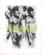 ANCIENNE PHOTO HOMME NU NOIR NUDE NAKED MAN MEN BLACK  ( 13 CM X 10 CM ) - Afrique Du Sud, Est, Ouest