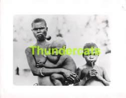 ANCIENNE PHOTO FEMME NUE NU NOIR NUDE NAKED WOMAN LADY CHILD BLACK  ( 13 CM X 10 CM ) - Afrique Du Sud, Est, Ouest