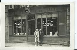 CARTE PHOTO - TEINTURERIE  JENNY  à Situer - Postcards