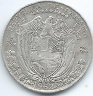 Panama - 1962 - ½ Balboa - KM12.2 - Panama