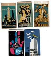 5 Ijzerbedevaart - Kaaskerke - Diksmuide - 1952/1953/1957/1961/1963 - 2 Scans - Tickets D'entrée