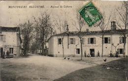 D82  MONTPEZAT ILLUSTRÉ  Avenue De Cahors ....... La Gendarmerie - Montpezat De Quercy