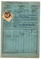 PONTIVY, BISCUITERIE DE KERGRESIL - TELEPHONE 1922 1939 1941 - LOT DE 10 DOCUMENTS - Vieux Papiers