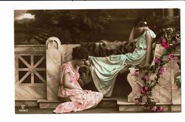 CPA - Carte Postale -Belgique- Deux Jeunes Femmes Pensives -VM3913 - Women