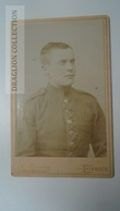 D164573 CDV  Cabinet Photo  - A. Münzberg -H.Eicke - Einbeck  - Ca 1880-90 - Young Man  Uniform Military - Fotos