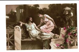 CPA - Carte Postale -Belgique- Deux Jeunes Femmes Discutant -VM3914 - Women