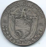Panama - 1947 - ½ Balboa - KM12.1 - Panama