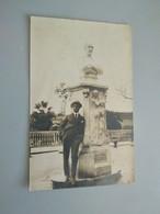 CARTOLINA FOTOGRAFICA GENOVA - MONUMENTO A NICOLO' BACIGALUPO - Genova (Genoa)