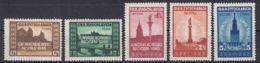 Yugoslavia Republic 1946 Mi#507-511 Mint Hinged - 1945-1992 Repubblica Socialista Federale Di Jugoslavia