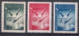 Yugoslavia Republic 1947 Mi#524-526 Mint Hinged - 1945-1992 Socialist Federal Republic Of Yugoslavia