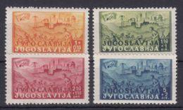 Yugoslavia Republic 1947 Mi#529-532 Mint Hinged - 1945-1992 Repubblica Socialista Federale Di Jugoslavia