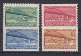Yugoslavia Republic 1948 Mi#548-551 Mint Hinged - 1945-1992 Repubblica Socialista Federale Di Jugoslavia