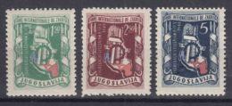 Yugoslavia Republic 1948 Mi#539-541 Mint Hinged - 1945-1992 Repubblica Socialista Federale Di Jugoslavia