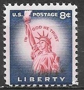 1954 8 Cents Statue Of Liberty Mint Never Hinged - United States