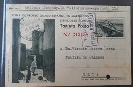 Marruecos Entero Postal - Marruecos Español