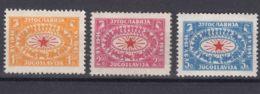 Yugoslavia Republic 1946 Mi#494-496 Mint Hinged - 1945-1992 Repubblica Socialista Federale Di Jugoslavia