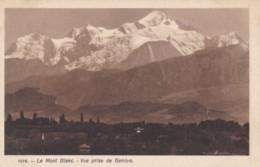 AL59 Le Mont Blanc, Vue Prise De Geneve - GE Geneva