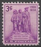1938 3 Cents Northwest Territory, Mint Never Hinged - Unused Stamps
