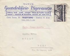 12585-BUSTA INTESTATA-GUARDOLIFICIO VIGEVANESE-VIGEVANO(PV) - Pubblicitari